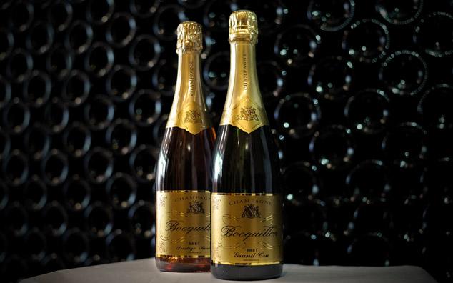 Champagne Brut Grand Cru - Champagne Prestige Rosé - Bocquillon